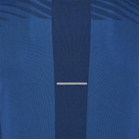 asics Bezszwowa koszulka z długim rękawem Mężczyźni, deep sapphire